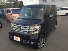 沖縄の中古車 ホンダ N BOXカスタム 車両価格 154.8万円 リ済別 平成29年 0.6万K パープルパール