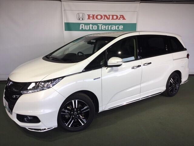 Photo Of Honda Odyssey Hybrid Absolute Sensing Advanced Package Used