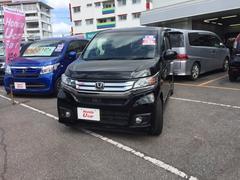 沖縄の中古車 ホンダ N−WGNカスタム 車両価格 124.8万円 リ済別 平成27年 2.4万K ブラック