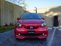 スマートフォーフォー smart BRABUS forfour Xclusive Red Ltd.