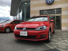 VW ゴルフヴァリアントTSI Comfortline 登録未使用車 キセノン