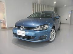 VW ゴルフヴァリアントTSI Highline ナビ ETC 保証H31年6月まで