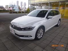 VW パサートヴァリアントTSI Comfortline 登録済み未使用車 純正ナビ