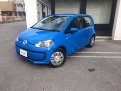 沖縄の中古車 フォルクスワーゲン VW アップ! 車両価格 108万円 リ済別 2014年 1.3万K コーンフラワーブルー
