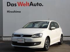 VW ポロブルーモーション SDナビ 認定中古車