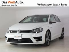 VW ゴルフRR ディスカバープロ ブラックレザーシート 認定中古車