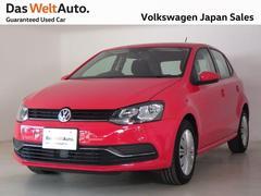 VW ポロTSIコンフォートライン 純正SDナビ ETC 認定中古車