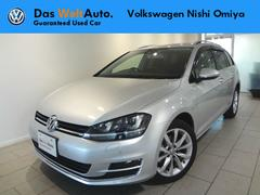 VW ゴルフヴァリアントTSIハイライン ナビ ETC