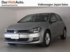 VW ゴルフラウンジ ワンオーナー 限定車 専用アルミ 認定中古車