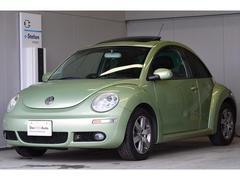 VW ニュービートルPlus ナビ レザー ザンルーフ DWA保証半年付