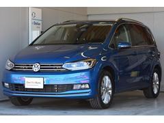 VW ゴルフトゥーランTSIハイライン ナビ Rカメラ LEDライト DWA保証付