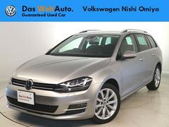 VW ゴルフヴァリアントTSIハイライン ナビ Xenon