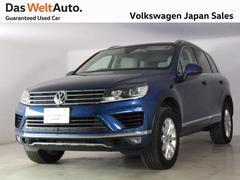 VW トゥアレグV6 アップグレード PK 認定中古車