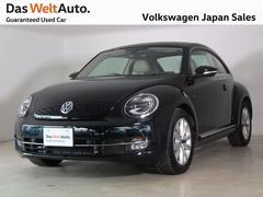 VW ザ・ビートルDesign レザーパッケージ ベージュレザー内装仕様