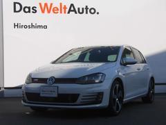 VW ゴルフGTIGTI DCC 純正ナビ デモカー 認定中古車