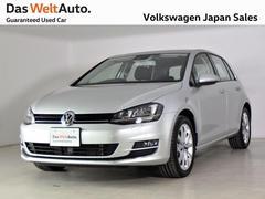 VW ゴルフTSIハイライン デモカー使用車 ディスカバープロ認定中古車
