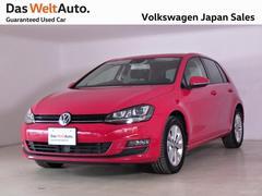 VW ゴルフTSIコンフォートライン スマートエントリー 試乗車使用