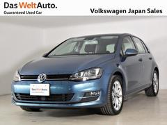 VW ゴルフTSI ハイライン BMT元試乗車 純正ナビ キセノンACC