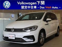 VW ゴルフトゥーランR−Line 純正ナビ ワンオーナー 自動ブレーキ ACC