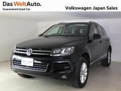 VW トゥアレグV6 認定中古車 ブラウンレザーシート