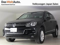 VW トゥアレグV6 フルレザー内装 純正ナビ付