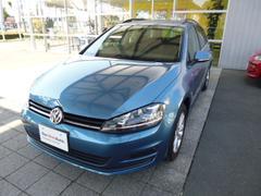 VW ゴルフヴァリアントTSI Comfortline 1オーナー 禁煙車 純正ナビ