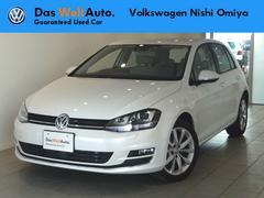 VW ゴルフTSIハイラインブルーモーションテクノロジー レザーシート