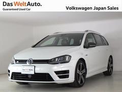 VW ゴルフRヴァリアント限定車カーボンスタイル ワンオーナー18インチ 認定中古車