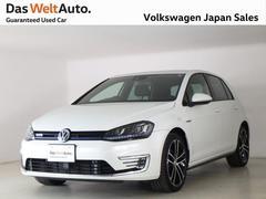 VW ゴルフGTEPHV 認定中古車 禁煙社用車 純正ナビ ETC