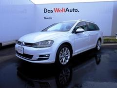 VW ゴルフヴァリアントTSI Highline VW認定中古車  +ETC