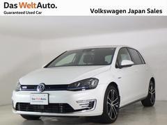 VW ゴルフGTEPHV DCCパッケージ デモカー使用車 認定中古車