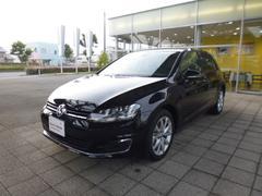 VW ゴルフハイライン 登録済み未使用車 レザーシート 純正ナビ