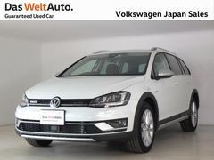VW ゴルフオールトラックTSI 4MOTION アップグレードパッケージ 純正ナビ
