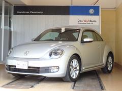 VW ザ・ビートルDesign Leather PKG 1オーナー 黒レザー