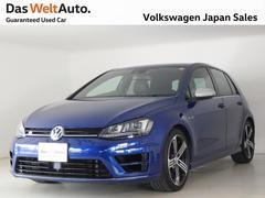 VW ゴルフRベースグレード 4MOTION 6速マニュアル 認定中古車