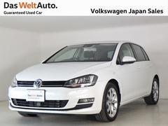 VW ゴルフTSI ハイライン BMT SDナビ キセノン 認定中古車