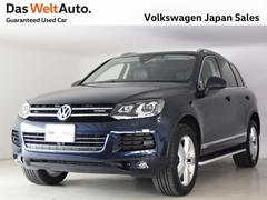 VW トゥアレグハイブリッド ルーフレールPKG レザーシート 禁煙 認定車