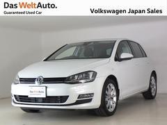 VW ゴルフTSIハイライン ディスカバープロ デモカー使用車認定中古車