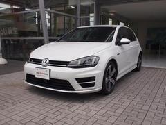 VW ゴルフR純正ナビ 本革シート プリクラ アダプティブクルーズ