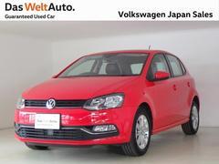 VW ポロTSIコンフォートUPG 認定中古車 アルカンターラPKG