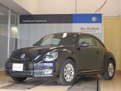VW ザ・ビートルDesign 1オーナー 純正SDナビ地デジTV バイキセ