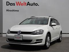 VW ゴルフヴァリアントラウンジ 純正ナビ バックカメラ キセノン 認定中古車