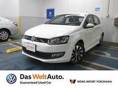 VW ポロブルーモーション 元試乗車 メーカー保証付 認定中古車