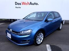VW ゴルフTSIハイラインブルーモーションテクノロジーVW認定中古車