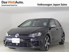 VW ゴルフRターボAWD 黒レザー 純正ナビ PDC 認定中古車