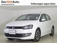 VW ポロブルーモーション 300台限定車 ナビ ACC 認定中古車
