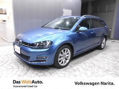 VW ゴルフヴァリアントTSI Highline VW認定中古車 Navi+ETC