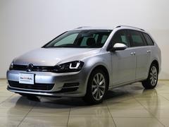 VW ゴルフヴァリアントTSIハイライン Aクルコン 純正SSDナビ地デジTV
