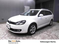 VW ゴルフヴァリアントComfortline VW認定中古車 Navi+ETC