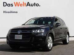 VW トゥアレグハイブリット HDDナビ エアサス ETC 認定中古車